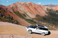 range rover adventures great divide expedition