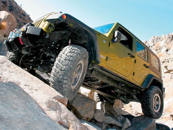 Jeep Wrangler JK Dana 44 Axles - Cheap Rubi Axles