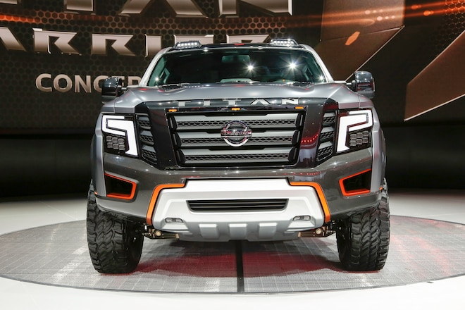 UPDATED WITH VIDEO! -- Nissan Titan XD Warrior Concept Debuts in Detroit