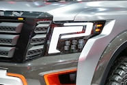 Nissan Titan Warrior Concept headlight 02