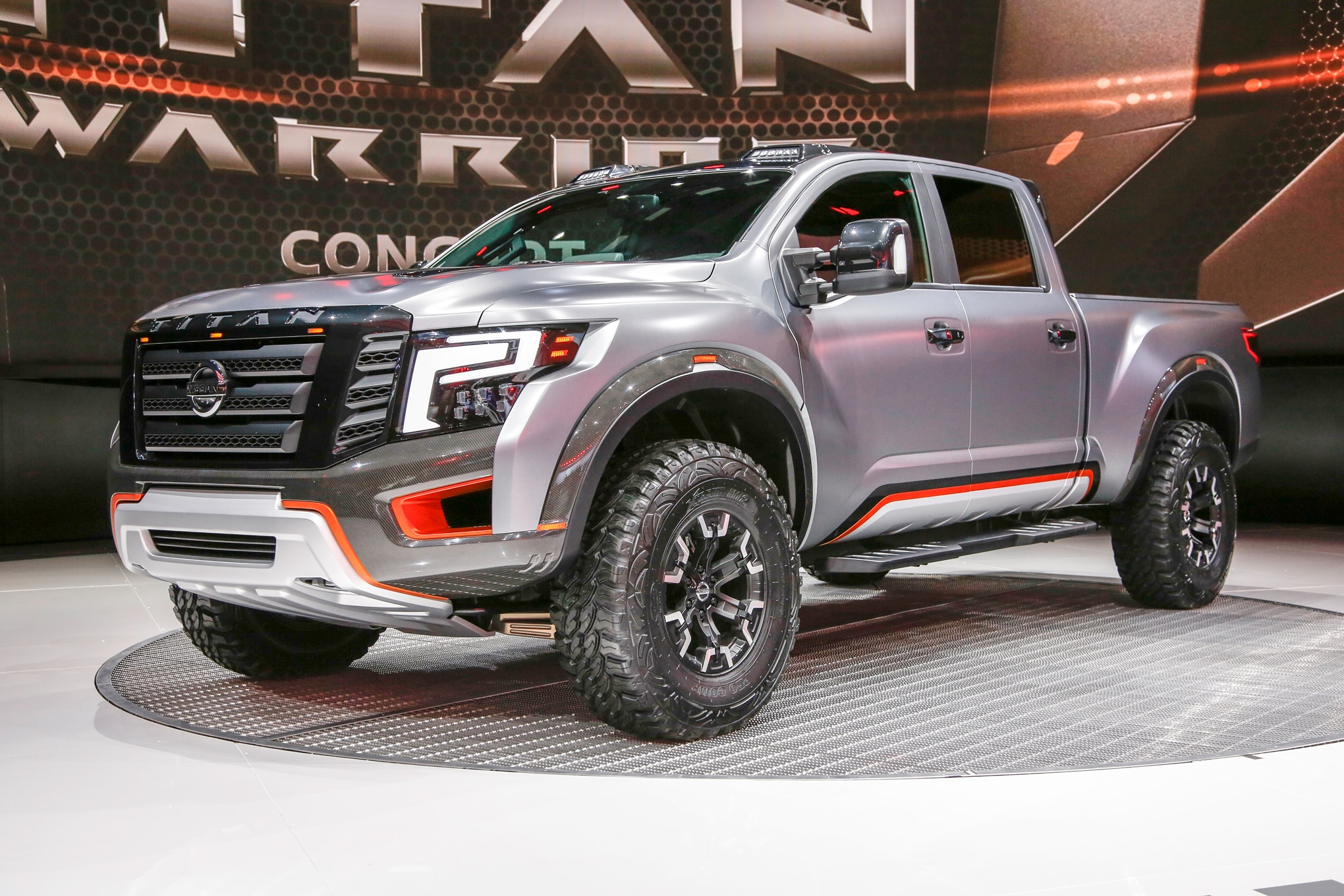 Nissan Titan Warrior Concept front three quarters