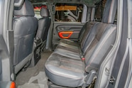 Nissan Titan Warrior Concept rear interior seats