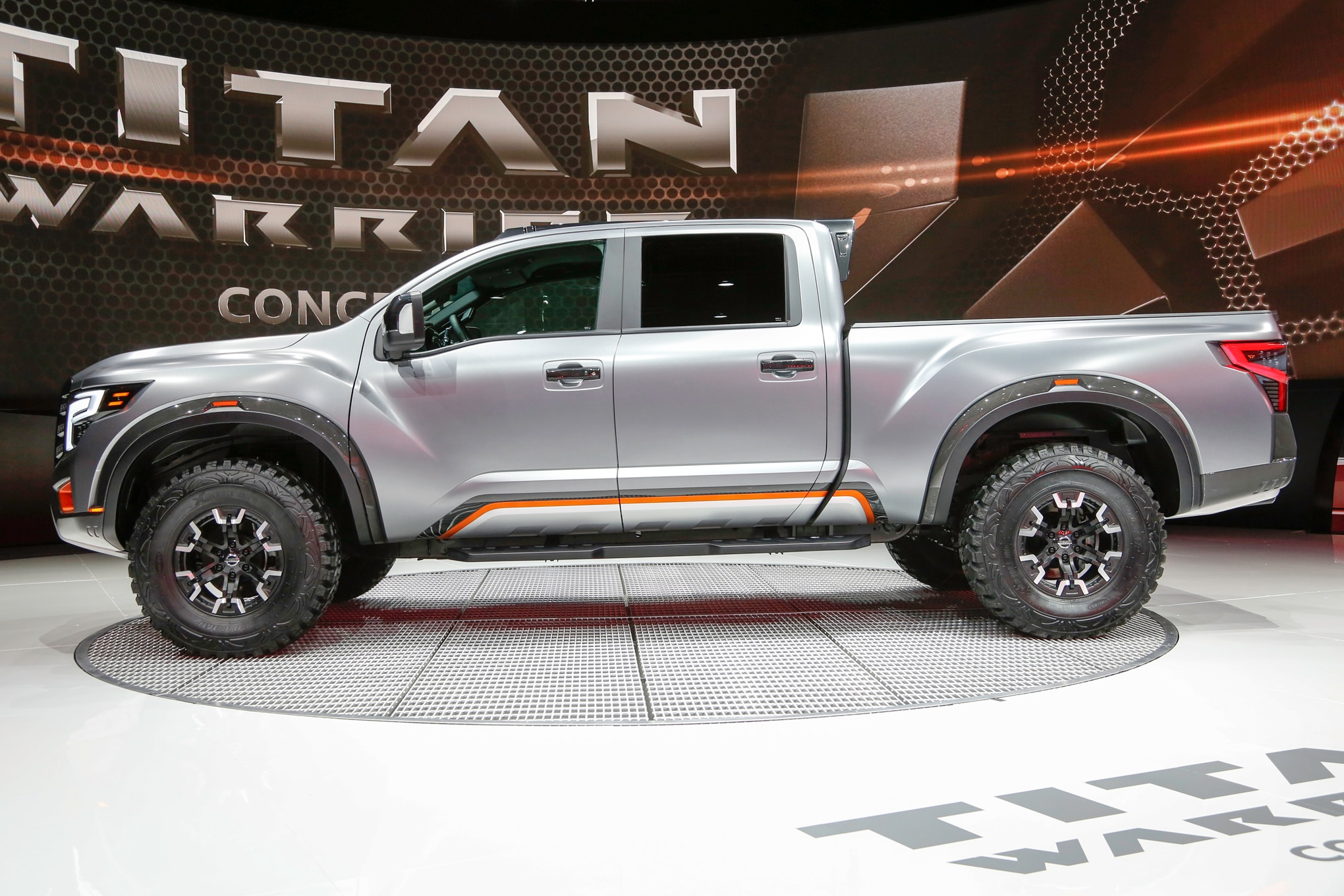Nissan Titan Warrior Concept side