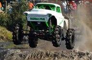 radioactive mud truck jumping
