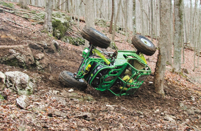 Plowboy Rock Bouncer Rollover - Whoops!