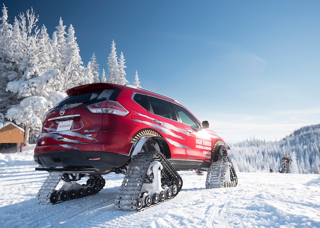 Nissan Rogue Warrior On Track to Put Winter in its Place