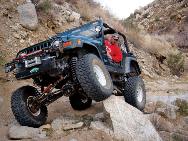 2000 Jeep Wrangler front View Rock Photo 9539848