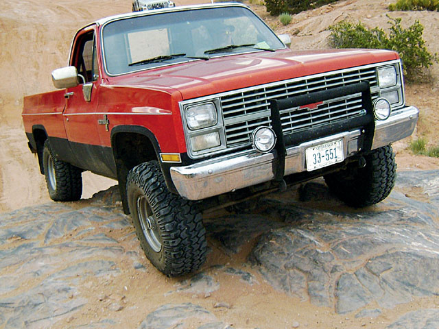 129 0801 18 z+1984 chevy k10+front view