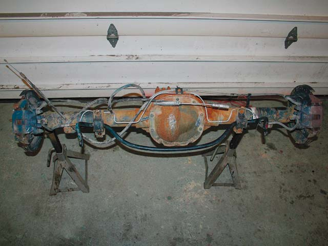129 0803 02 z+jeep cherokee ford 88 axle+ford 88 rear end