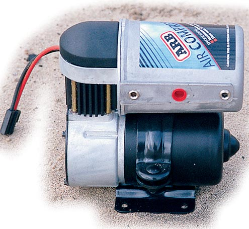 <p>Lock &#146;Em Up  <br>The original ARB air compressor is the perfect air source for your ARB air locker. While $295 may seem like a lot for a compressor this small, you must remember that this includes all the wiring to operate one ARB Air Locker. A mere $172 will get you a portable ARB unit if you&#146;re just interested in occasionally filling your tires after a day on the trail. This unit is small and lightweight but it gets the job done, even if it does take six and a half minutes per tire.