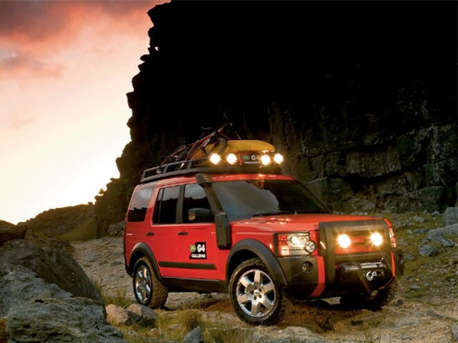 2005 Land Rover G4 Challenge - 4x News