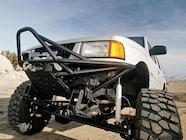 0802or 11 z+1993 isuzu rodeo off road unsung hero+fabricated front bumper