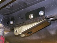 Here you can see how the rear suspension looks with the