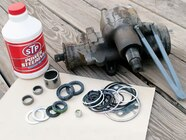 129 0801 01 z+saginaw steering box+components