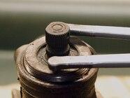 129 0801 09 z+saginaw steering box+remove adjuster plug