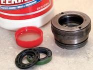 129 0801 17 z+saginaw steering box+oil dust seal