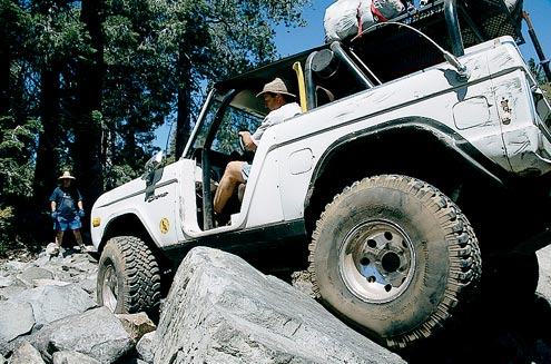 Sierra Trek is granite crawling at its best—and worst. Your view will depend on how skilled you are, and how lucky.
