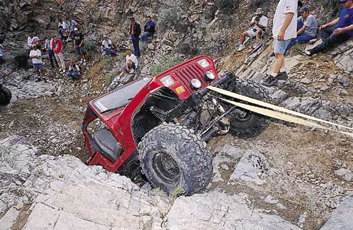 p707273 large+Jeep+Front Passenger Side View Car Climbing Rock