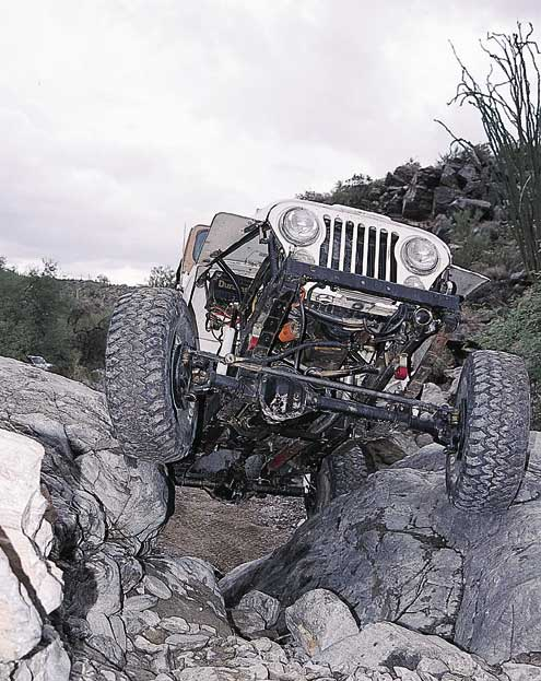 p707276 large+Jeep+Front View Car Climbing Rock