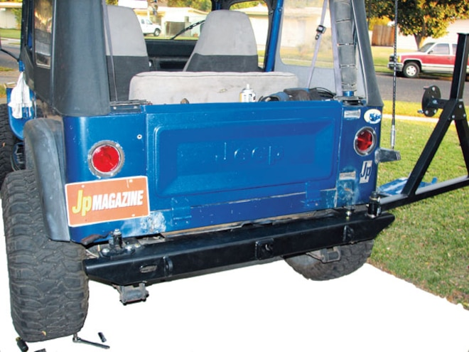 jeep tailgate conversion - 6 1/2 steps to bliss