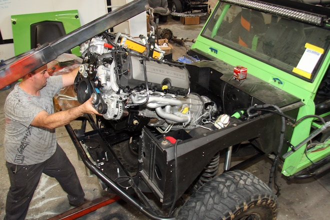Dropping a Coyote Crate Engine Into a Vintage Bronco
