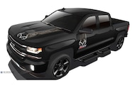 2016 chevy silverado real tree edition front three quarter