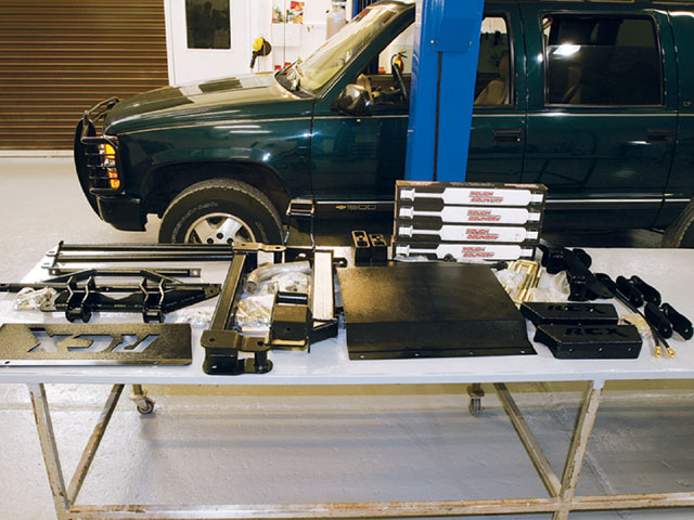 1995 Chevy Suburban 1500 suspension Kit Photo 9572145