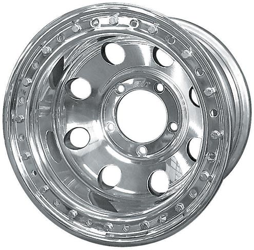 National Tire and Wheel offers Mickey Thompson Classic II wheels that have been converted to a true bead-lock design. These aluminum wheels feature a 16-bolt ring.
