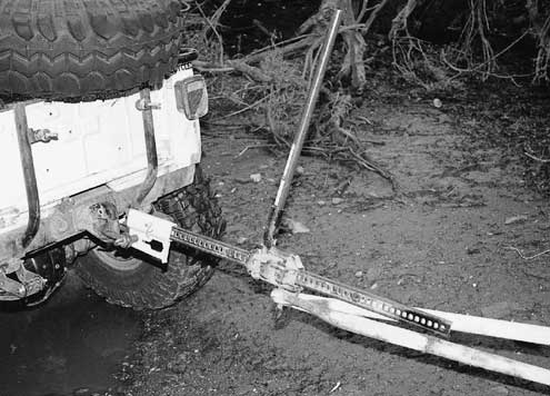 If you don't have a winch, the Jack-Mate turns your jack into a 7,000-pound wincher in no time flat.