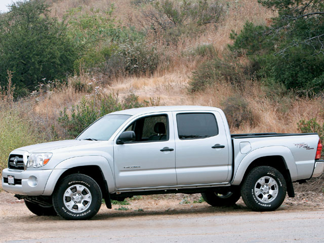 129 0701 01 z+2005 toyota tacoma trd+drivers side view