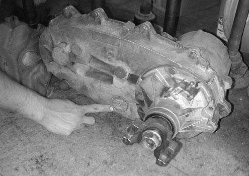 Used Transfer Case, Junkyard Parts, Chaindriven, Geardriven