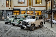 Land Rover Defenders Bonhams