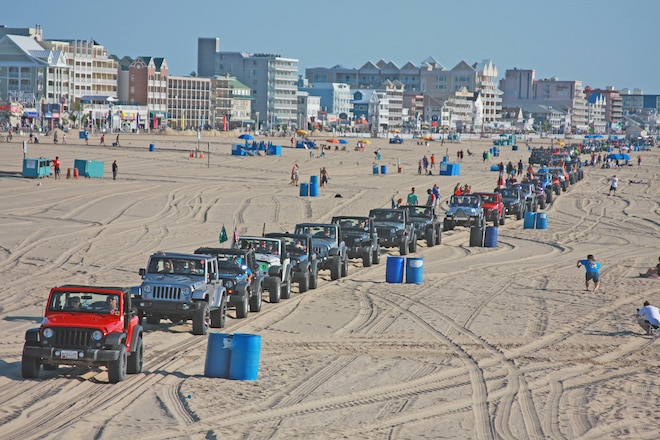 Ocean City Jeep Week >> Ocean City Jeep Week Sun Sand Beach And Jeeps