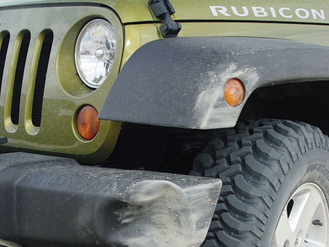 131 0702 24 z+2007 jeep jk wrangler rubicon+left front tire