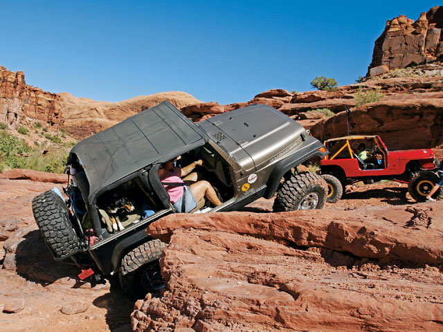 0805 4wd 01 Z Moab Utah Off Roading Jeep Rock Crawling