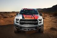2017 Ford F 150 Raptor Baja race truck front end