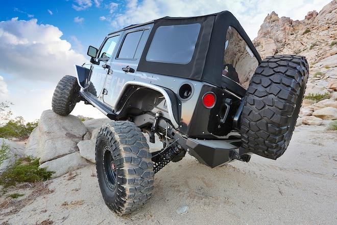 JK Coilover Conversion Delivers 13-inch Travel