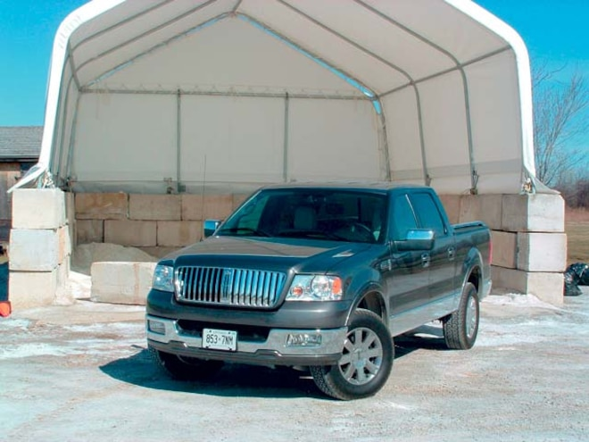 2006 Lincoln Mark LT Review - First Drive