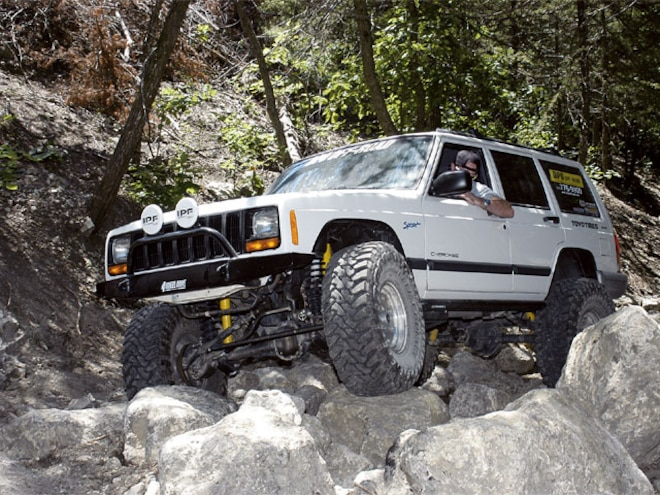 1998 Jeep Cherokee Sport - Upright XJ