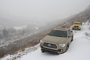 2016 toyota tacoma buried in snow
