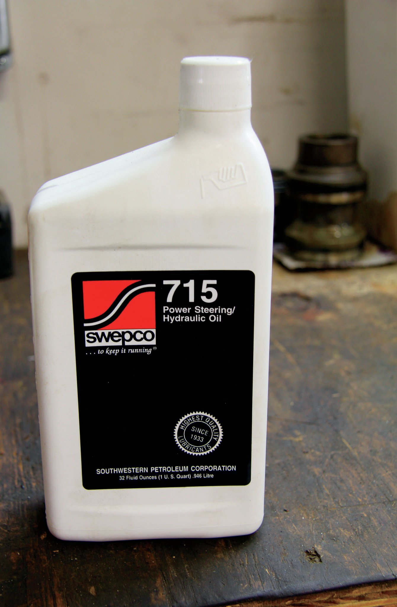 PSC sends detailed bleeding instructions with its kit, which are easy to follow. Also included is Swepco 715 steering fluid. Swepco uses Lubium, which is a friction modifier designed to reduce steering pump noise. The 715 fluid is also engineered to operate at a wide range of fluid temperatures.