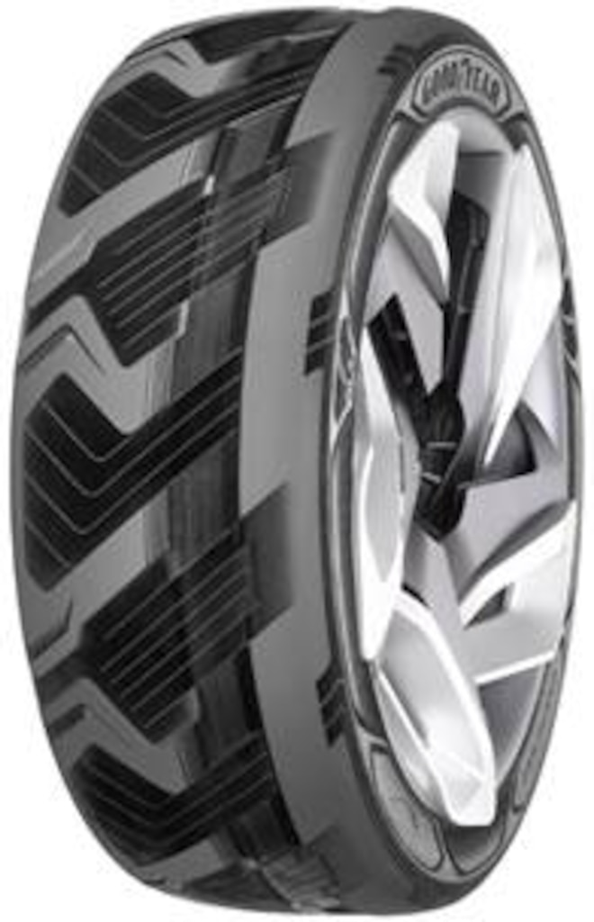 Goodyear Concept Tires: One Makes Electricity And The Other Auto-Adjusts Inflation