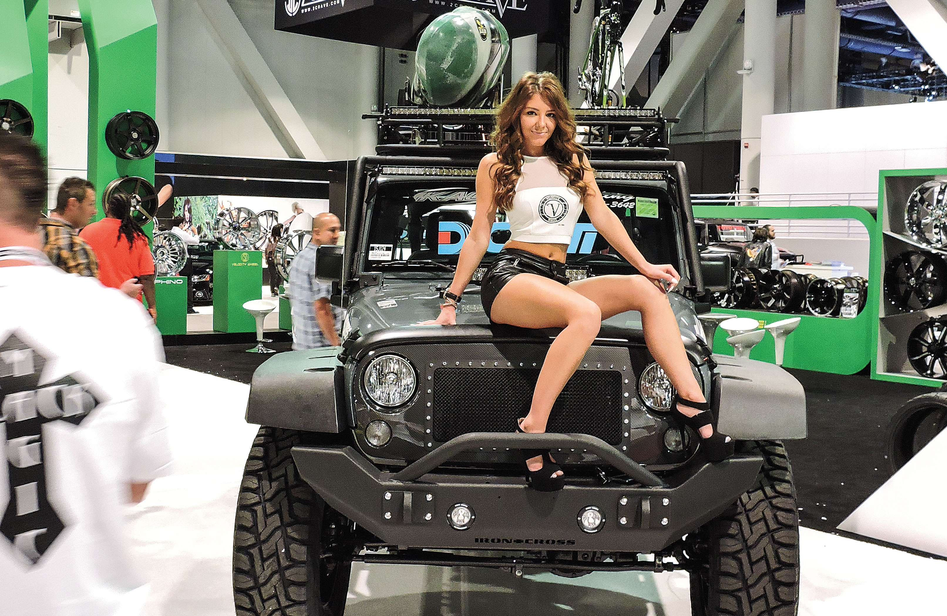 The Girls of SEMA 2014 - Stop the Cruelty!