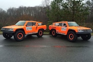 2016 Dakar team hst gordini race trucks