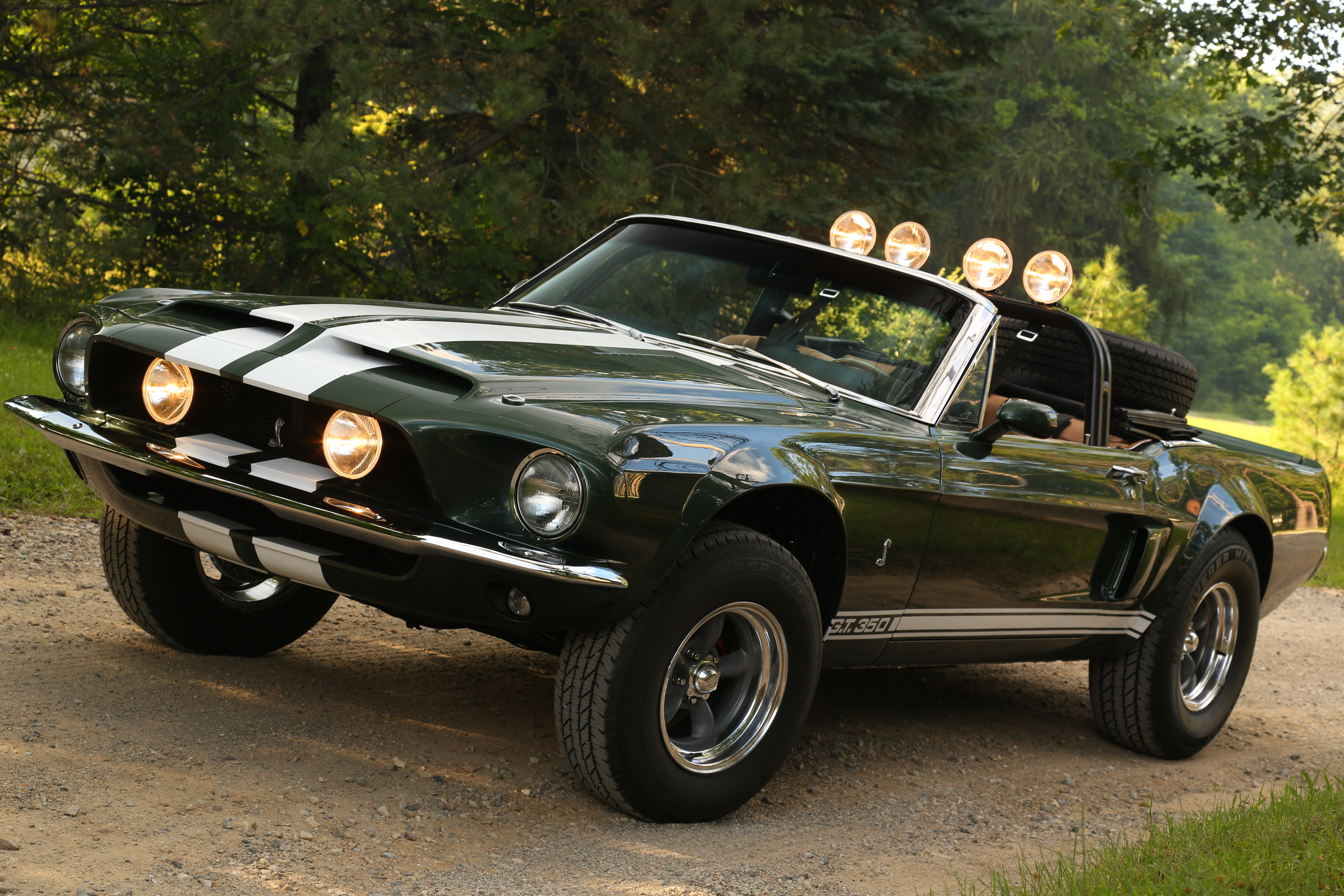 The Recreation of the Thomas Crown Affair Movie Mustang