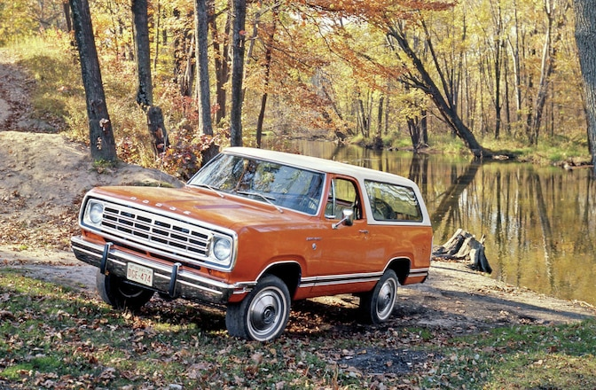 Dodge Ramcharger Spotter's Guide - SUV Bio