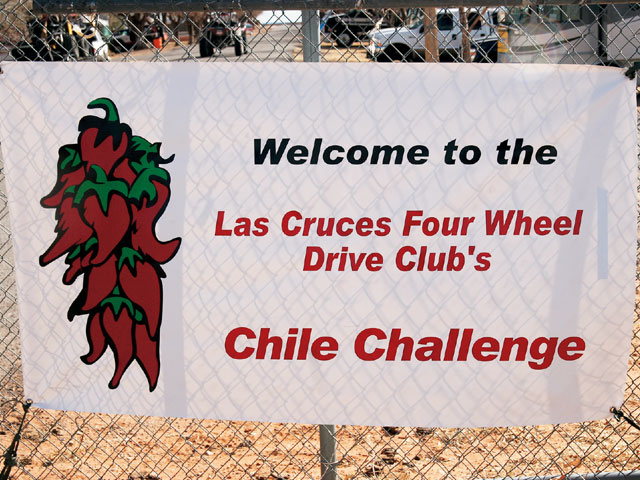 2008 Chile Challenge Trail Ride welcome Sign Photo 9775631