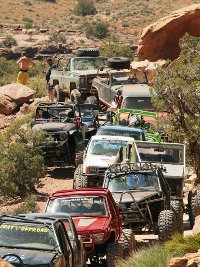 Easter Jeep Safari Moab Utah Trail - Hardcore Wheeling In Pritchett Canyon
