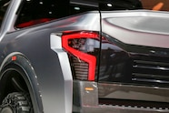 Nissan Titan Warrior Concept rear taillight