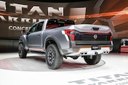 Nissan Titan Warrior Concept rear three quarters